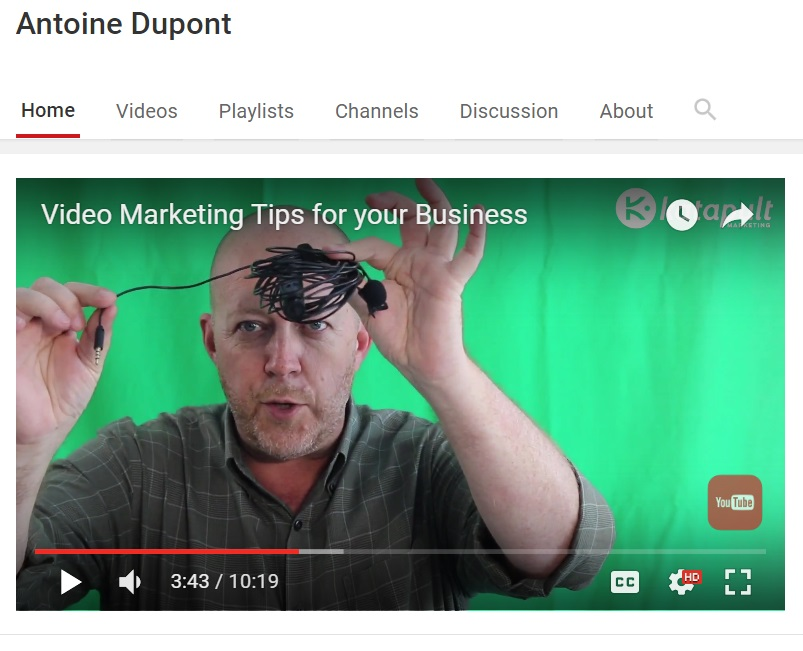 Video Marketing Tips for your Business Part 1